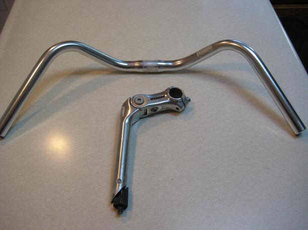 handle bar and raiser