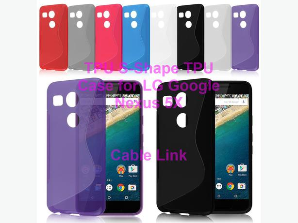 Flexible S-Line Soft TPU Case for LG Nexus 5X 2015
