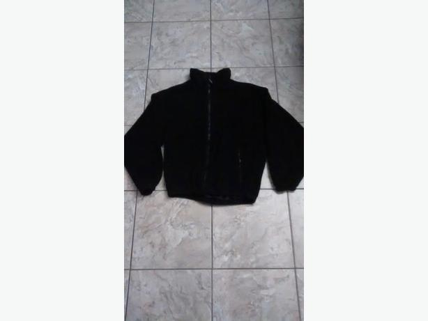 Ladies Black Fleece Jacket - Size Small
