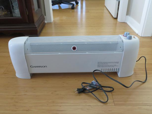 Garrison Plug In Convection Heater With Thermostat 750