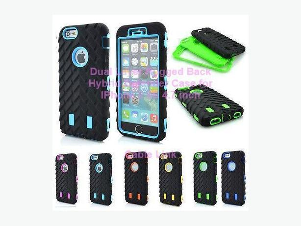 New Dual Layer Defender Rugged Armor Case for IPhone 6 6S 4.7""