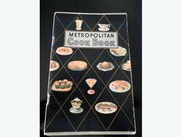 Vintage 1930s Cook Book by Metropolitan-c