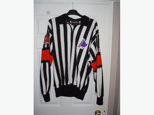 New Crossbar Referee Sweater/Linesman Sweaters