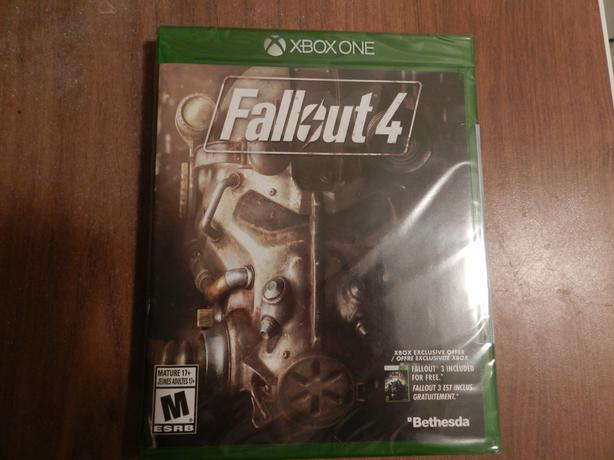 new sealed fallout 4 xbox one saanich victoria. Black Bedroom Furniture Sets. Home Design Ideas