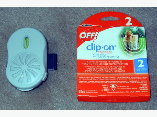 Like-New, Rarely Used Off! Clip-On® Mosquito Repeller