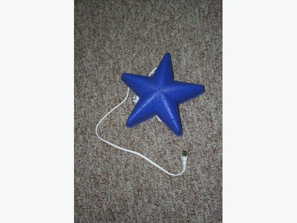 Two Ikea star night light