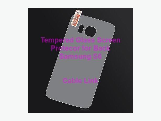 Tempered Glass Back Screen Protector for Samsung S6