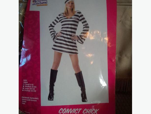 Convict Woman Costume
