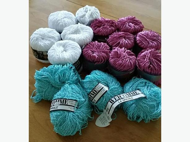 Jaeger Cotton Flamme Yarn