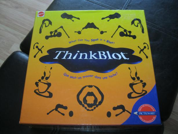 BRAND NEW - Mattel THINKBLOT game