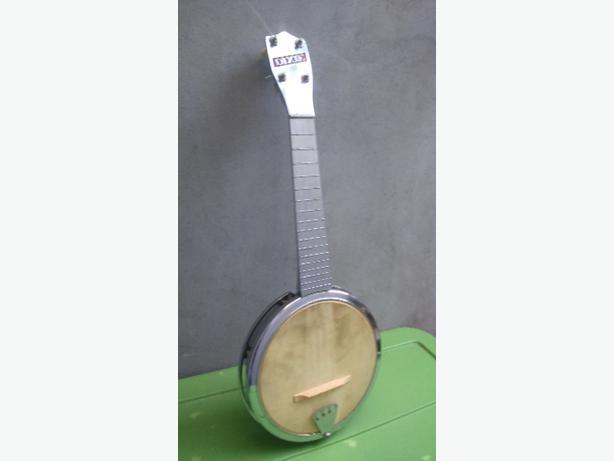 1950 Rare Dixie Banjo Ukelele
