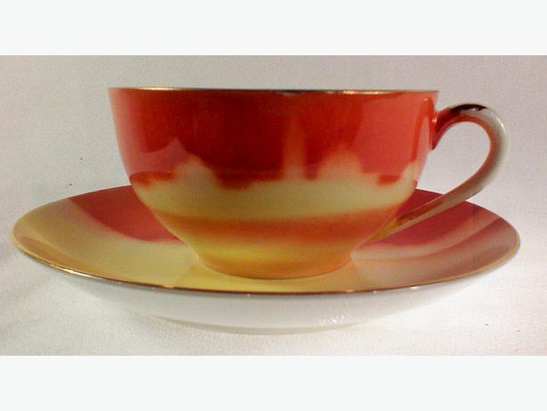 Skyline teacup and saucer