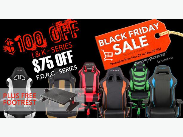 2015 black friday sale of dxracer gaming chairs pickering durham region. Black Bedroom Furniture Sets. Home Design Ideas