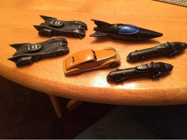 1992 ERTl batman cars