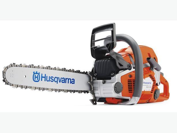 Great selection of new Husqvarna, Stihl, Echo and Shindaiwa chainsaws