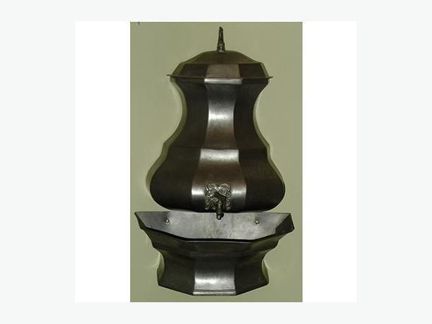 European Pewter Fountain