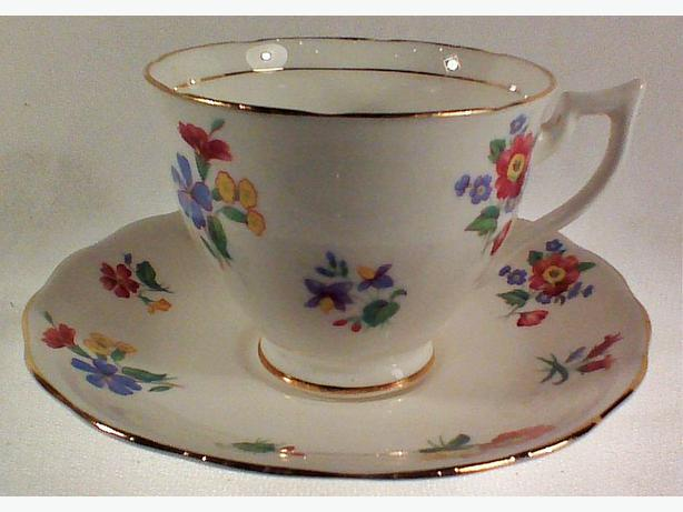 Crown Essex teacup & saucer