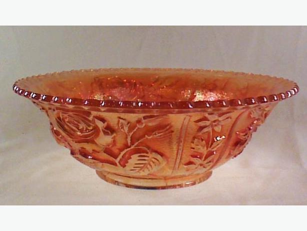 Imperial Luster Rose bowl