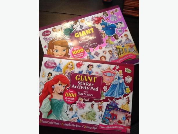 Disney Giant Sticker Books