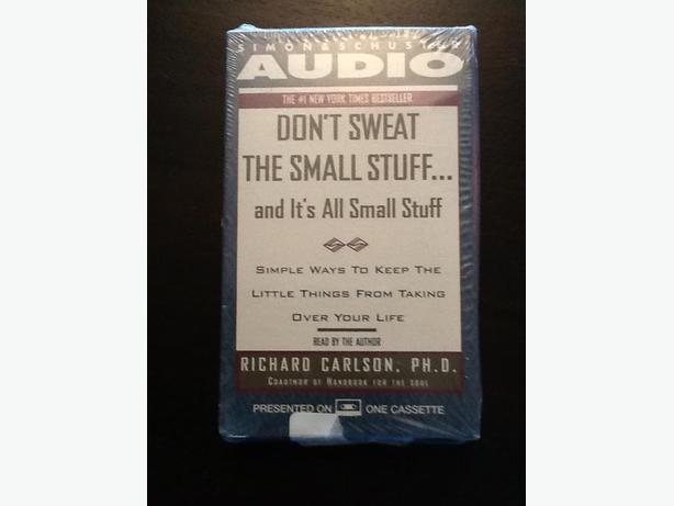 """Don't Sweat the Small Stuff"" audio book - New"