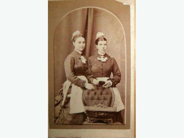 'The House Maids' Turnbull & Sons Photographers Glasgow-c