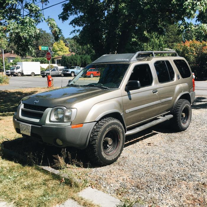 2003 Nissan Xterra Supercharged Engine W Mud Tires 4x4