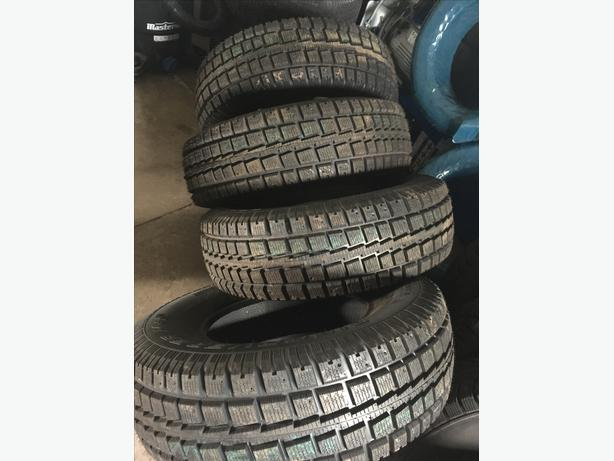 4 new tires Winter Cooper tires 245/75/16