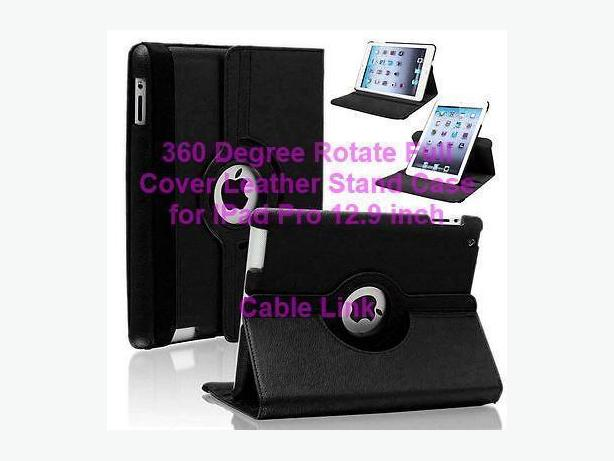Luxury 360° Rotating Leather Stand Case for IPad Pro 12.9 inch