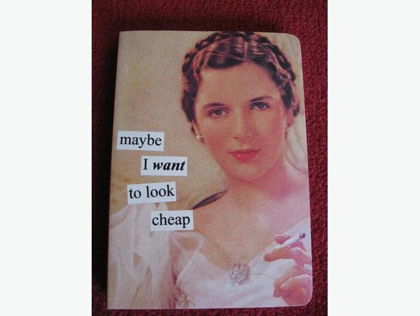 Anne Taintor Note book