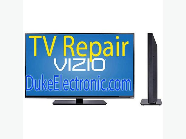 VIZIO TV repair LED, HDTV, LCD TV, NO POWER, No Picture