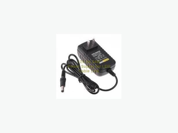 AC to DC Power Supply 12V 2A for LED strip light, security cam