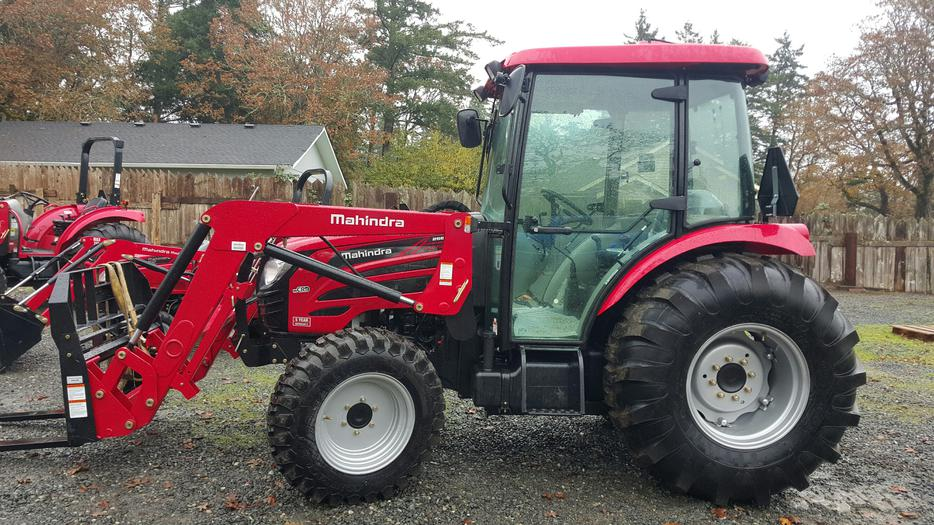 Thunder Bay Cab >> Mahindra 2565 Cab with Loader $5546 Down, $594 Monthly Outside Cowichan Valley, Cowichan