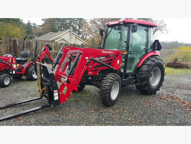 Mahindra 2565 Cab with Loader $5546 Down, $594 Monthly