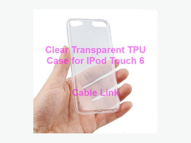 TPU Transparent Cover Case for Apple iPod Touch 6