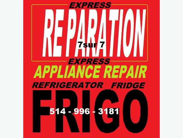 APPLIANCE FRIDGE REPAIR 5149963181 REPARATION ELECTROMENAGERS REFRIGERATEUR