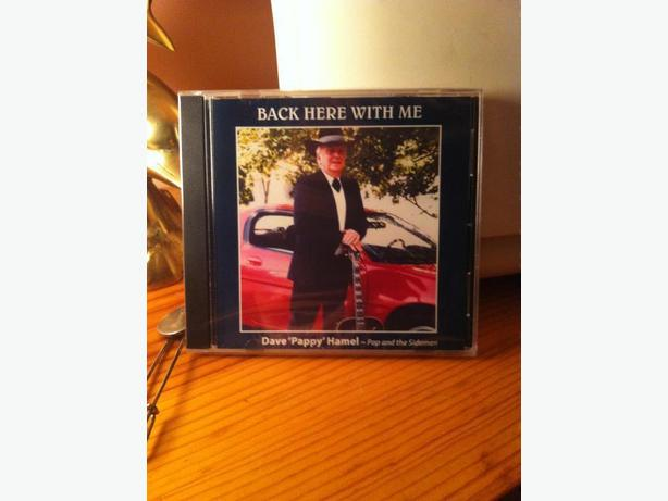 CD: BACK HERE WITH ME