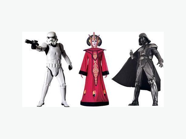 Star Wars Costumes for RENT