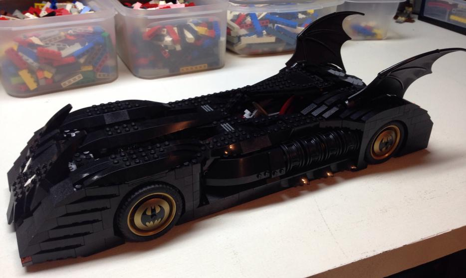 Lego 7784 Batmobile Ultimate Collector Series Victoria City Victoria