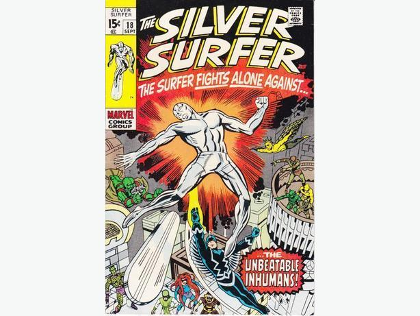 Silver Surfer #18 - Marvel Comics