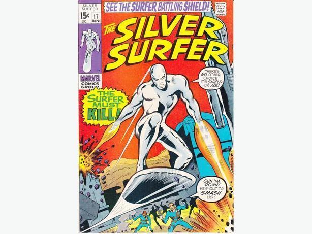 Silver Surfer #17 - Marvel Comics