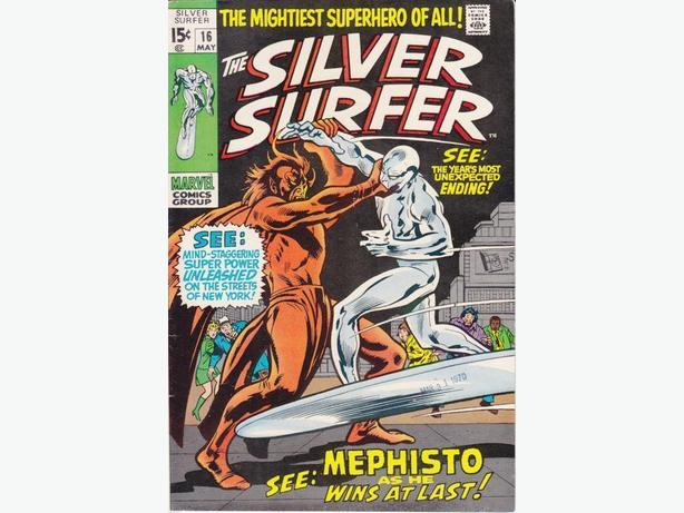 Silver Surfer #16 - Marvel Comics