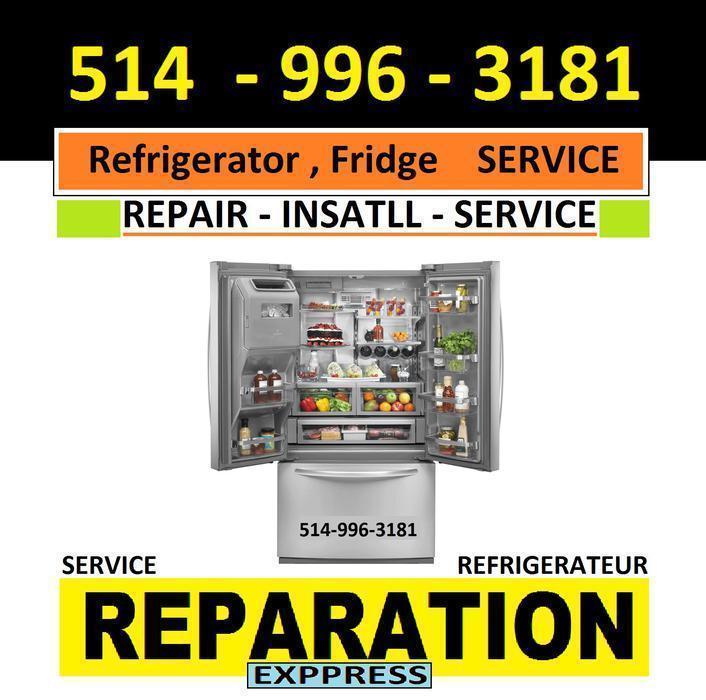 Reparation apareils electromenagers refrigerateur 514 996 for Equipement de restaurant montreal