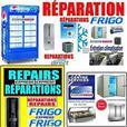 REPARATION TOUS REFRIGERATEUR COMMERCIAL 514-9963181 MONTREAL LAND