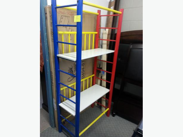 New Multi Colour Shelf Unit