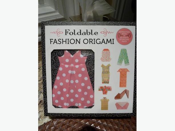 NEW Foldable Fashion ORIGAMI kit