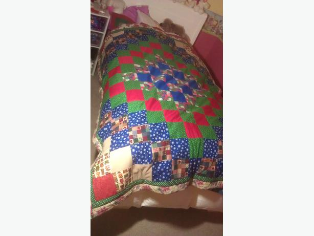Special Christmas quilt