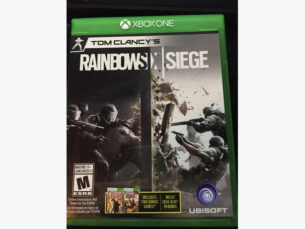 rainbow six siege xbox one central nanaimo parksville. Black Bedroom Furniture Sets. Home Design Ideas