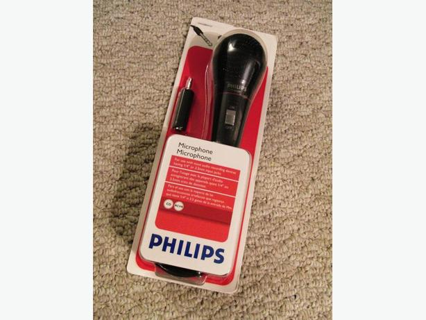 New Philips Microphone