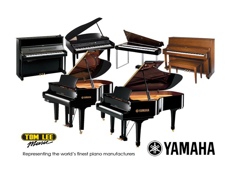 Yamaha silent pianos now available at tom lee music for Yamaha piano store winnipeg