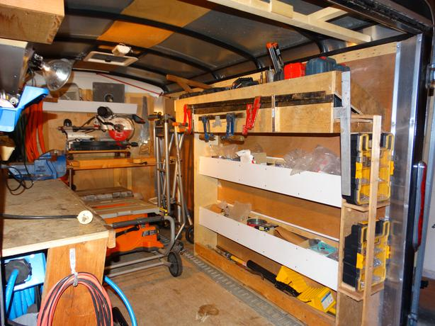 Carpenters Trailer Parksville Nanaimo Mobile